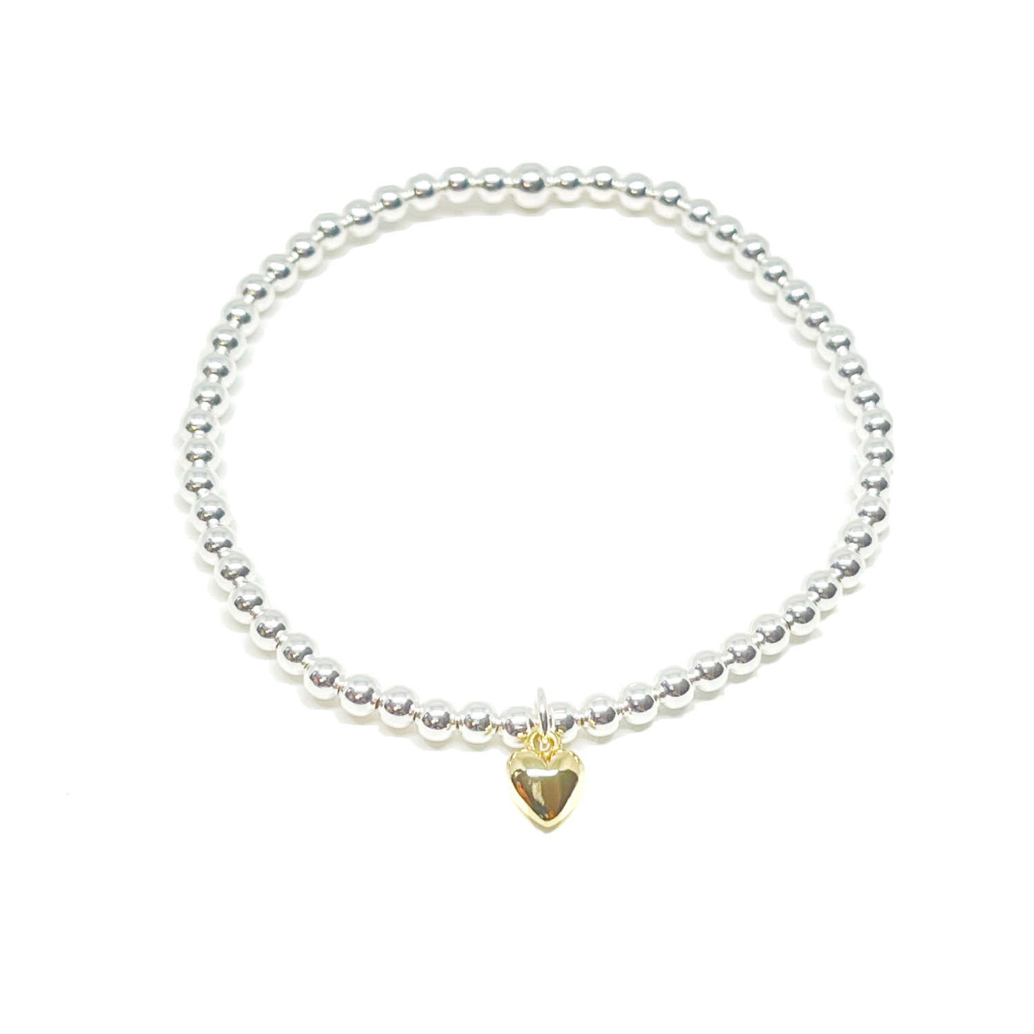 Maisy Mini Heart Bracelet - Gold