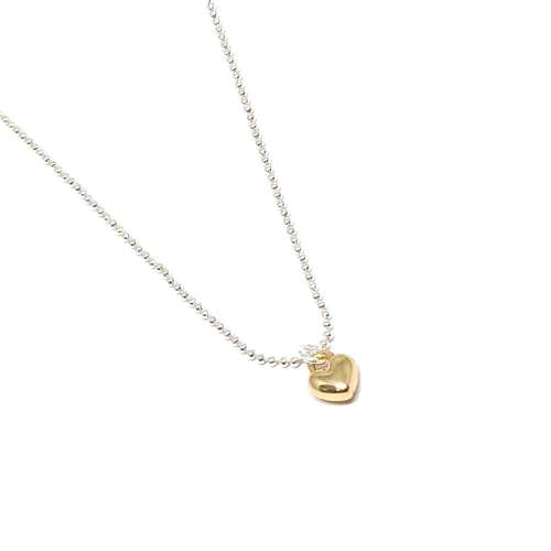 Maisy Mini Heart Necklace - Gold