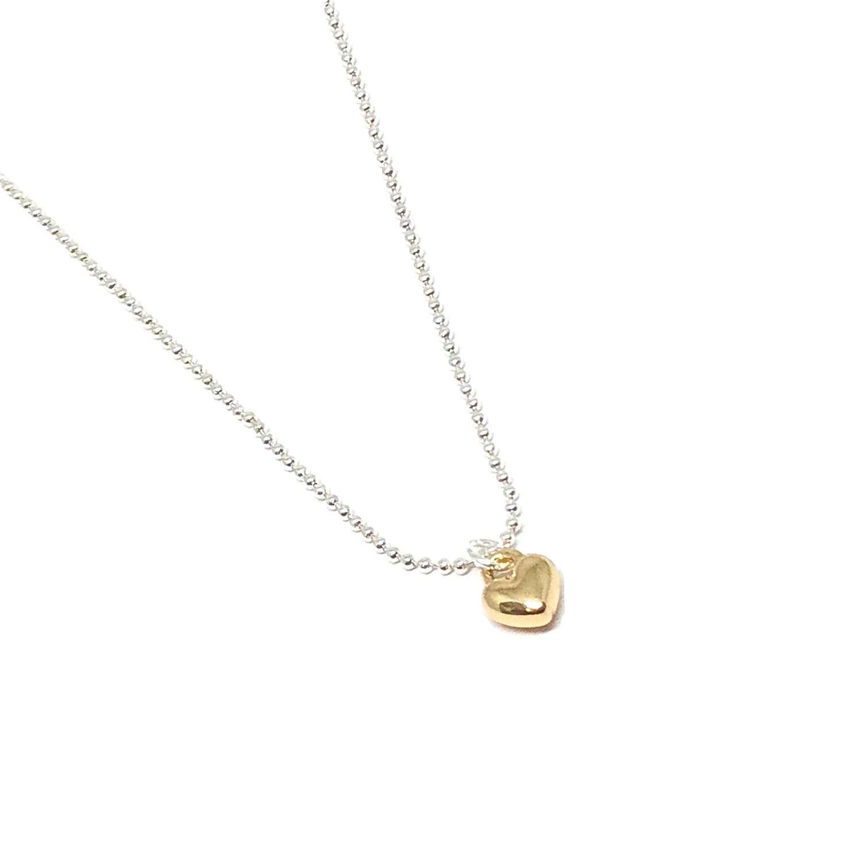 Maisy Mini Heart Necklace - Gold