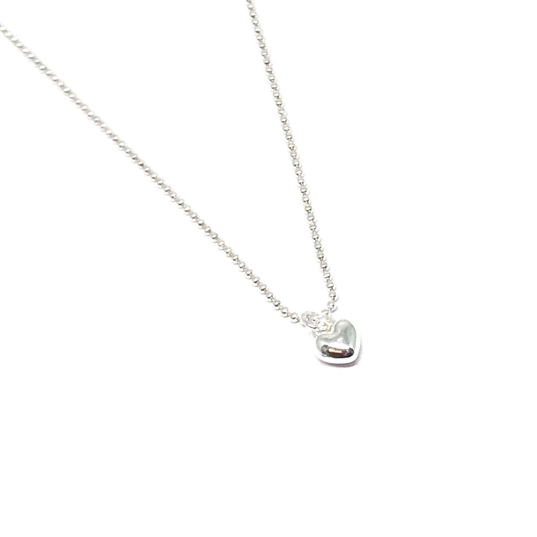 Maisy Mini Heart Necklace - Silver