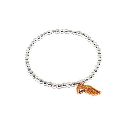 Sophia Angel Wing Bracelet - Rose Gold