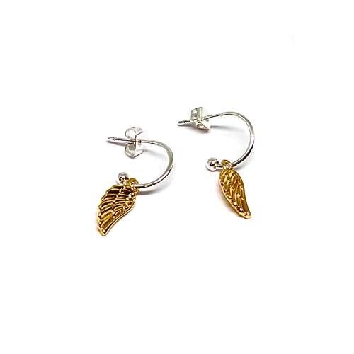 Sophia Angel Wing Earrings - Gold