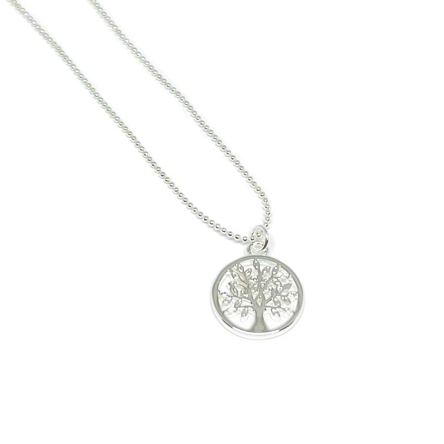 Taylor Tree Necklace - Silver