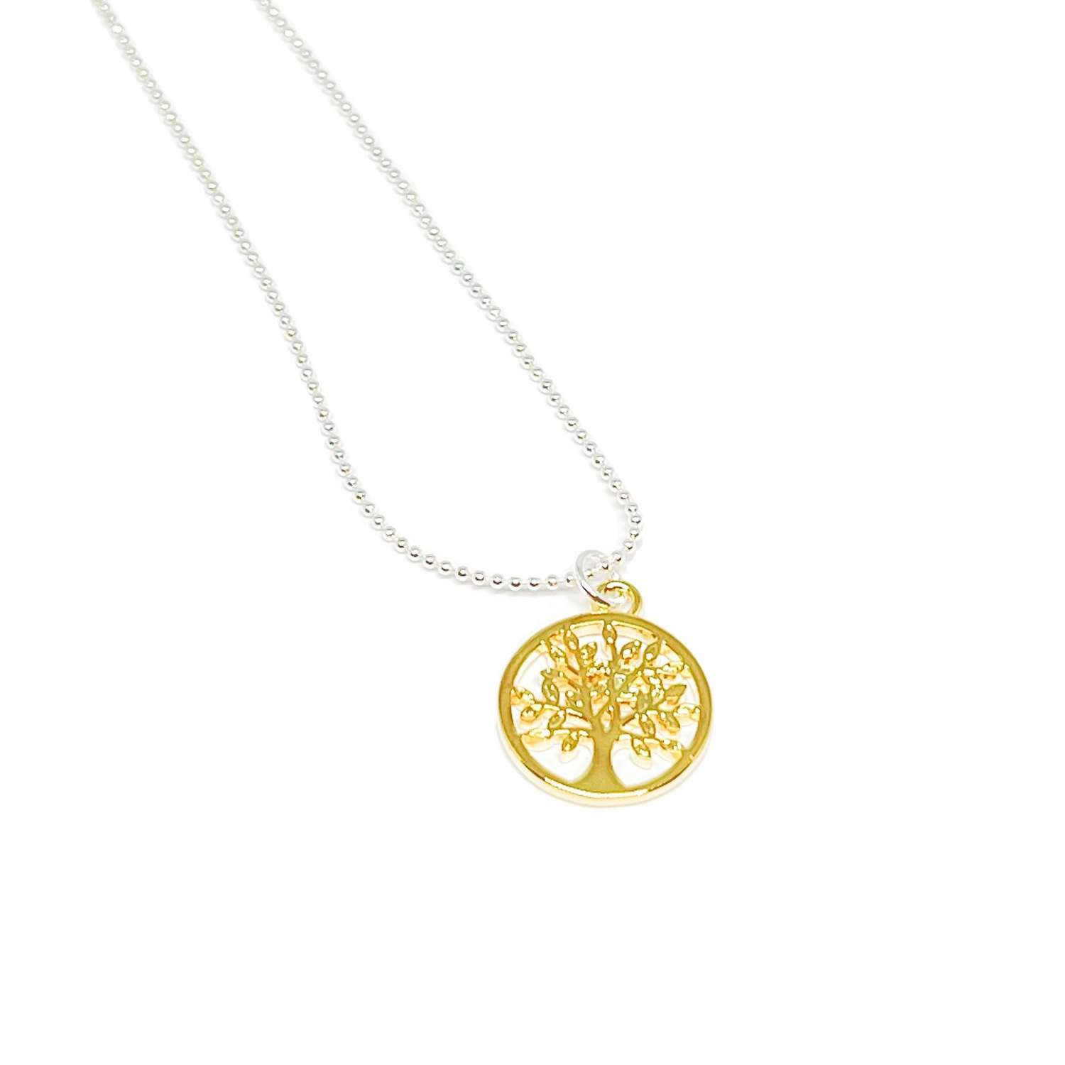 Taylor Tree Necklace - Gold