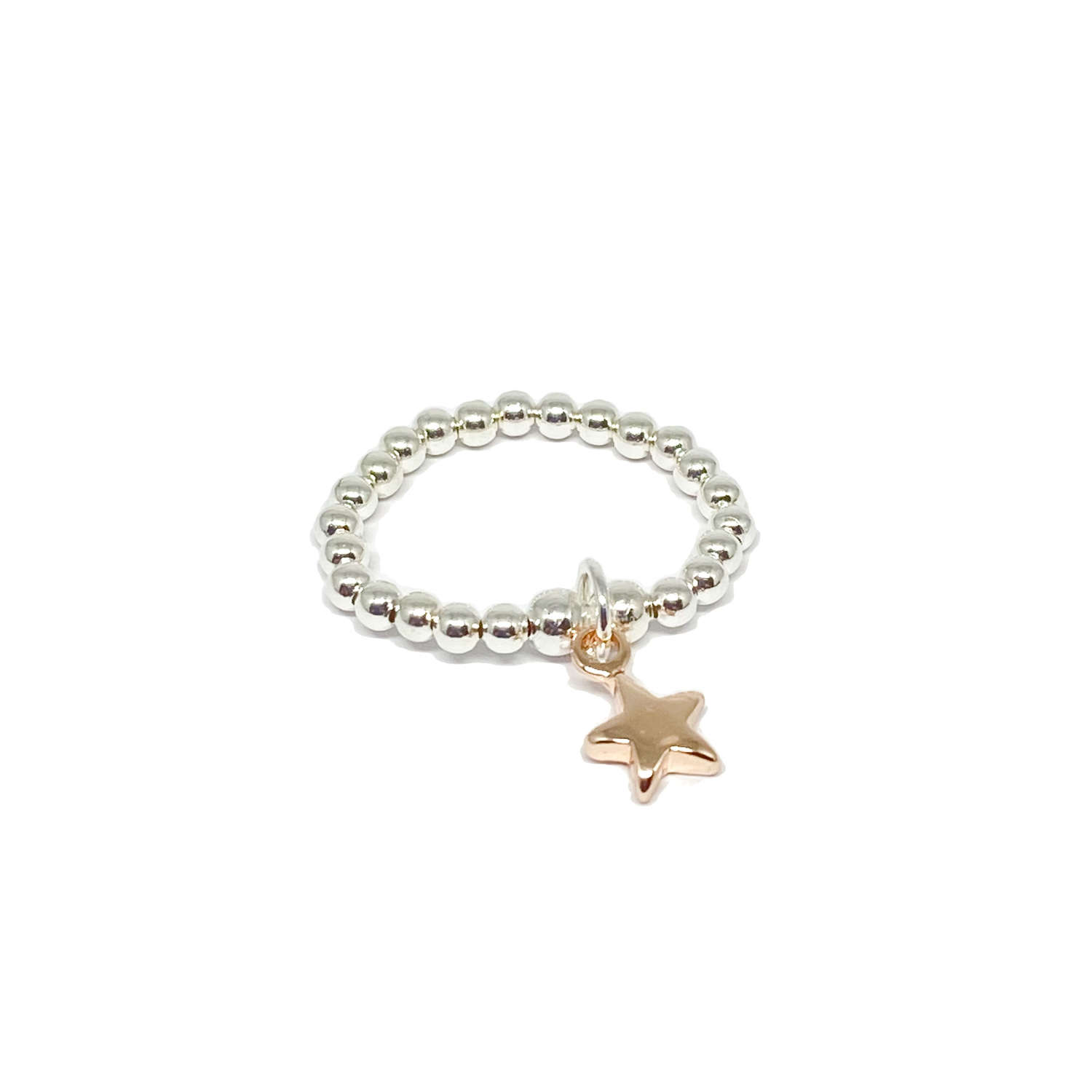 Rachel Star Ring - Rose Gold