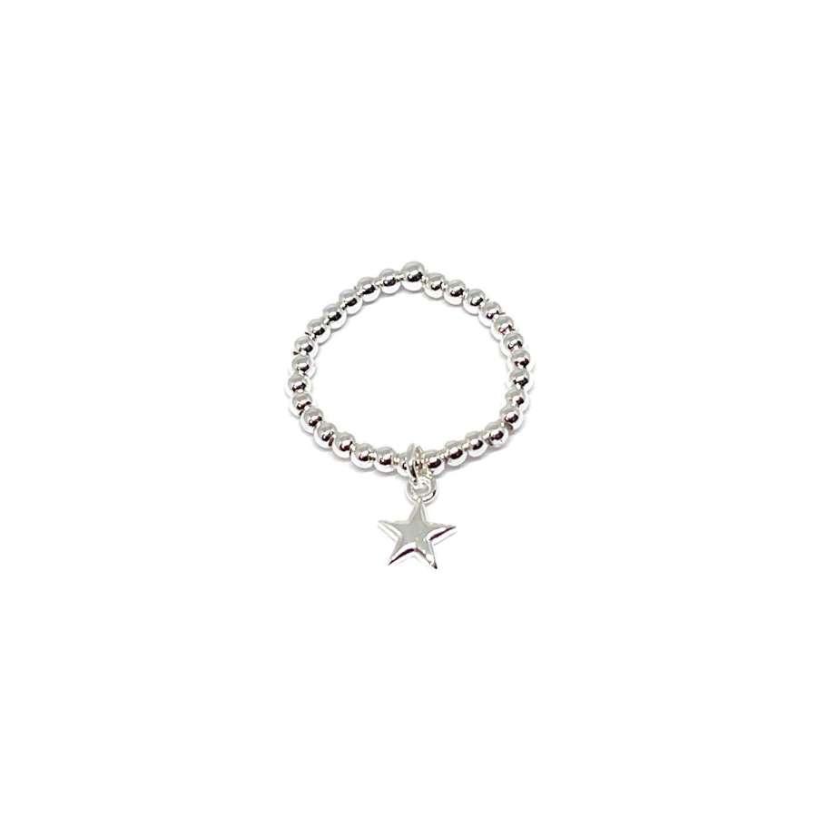 Rachel Star Ring - Silver