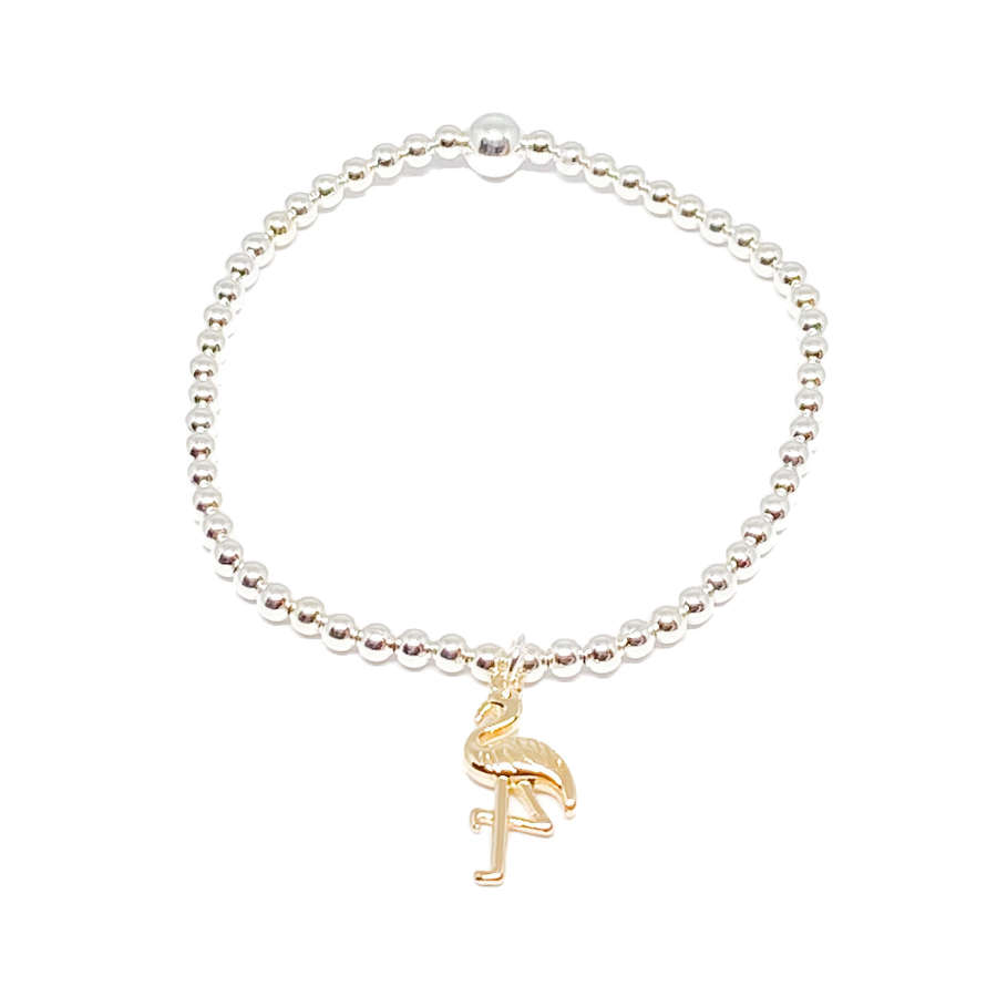 Fifi Flamingo Bracelet - Gold