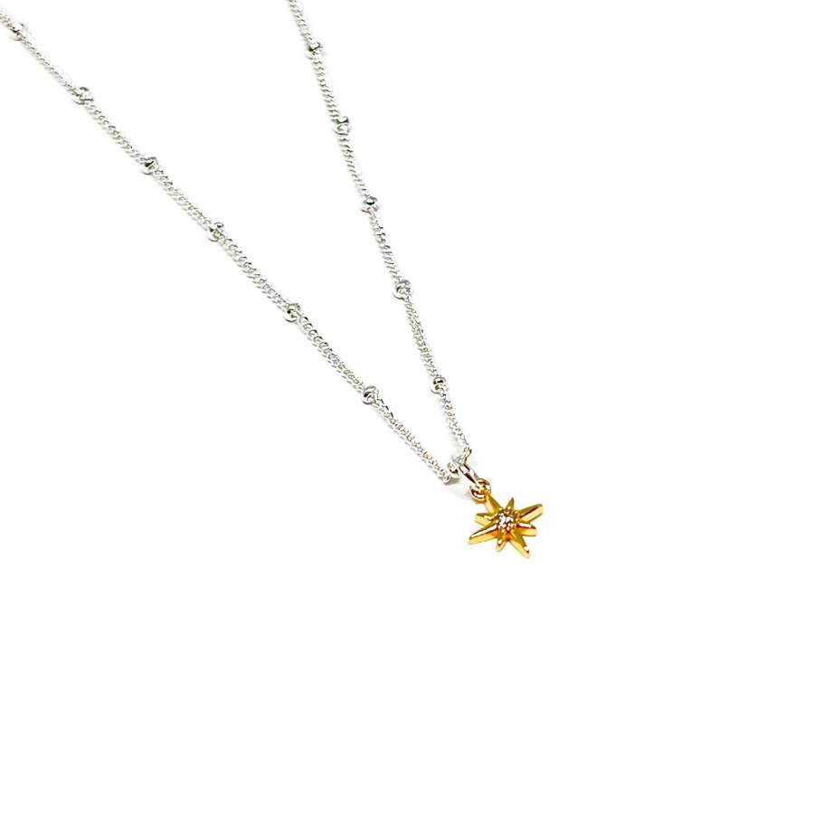 Zuri Star Necklace - Gold