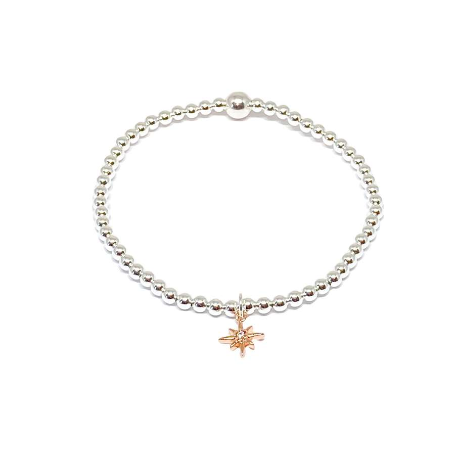 Zuri Star Bracelet - Rose Gold