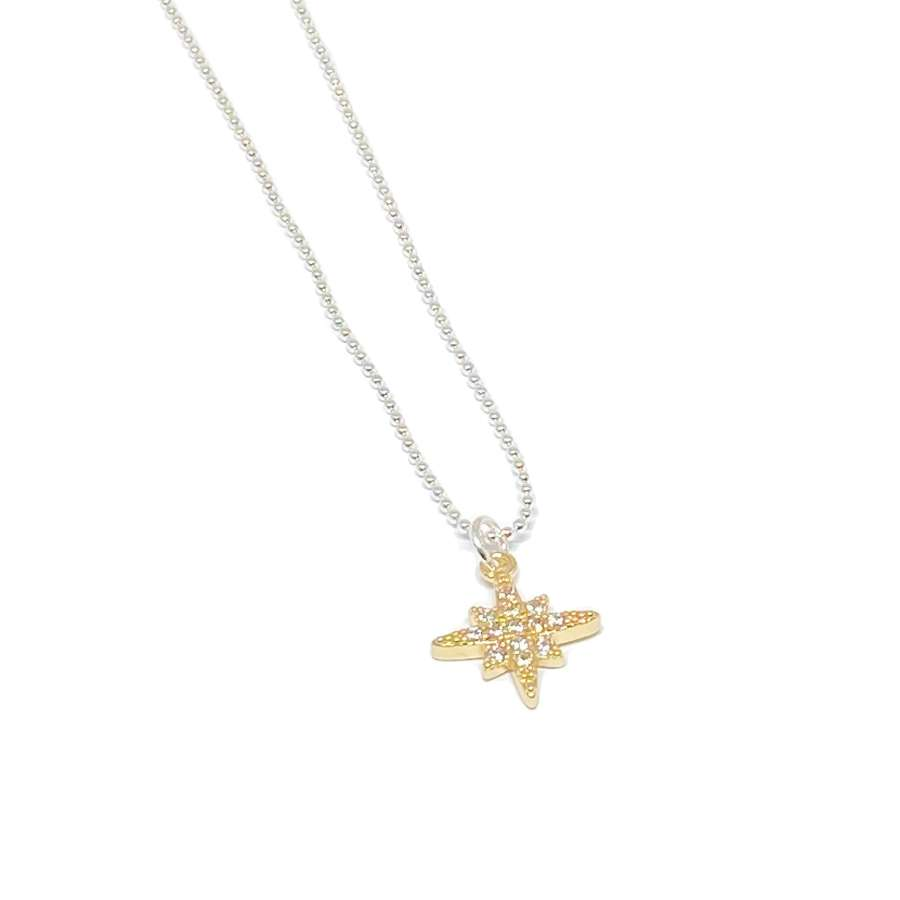 Krista Sparkle Necklace - Gold