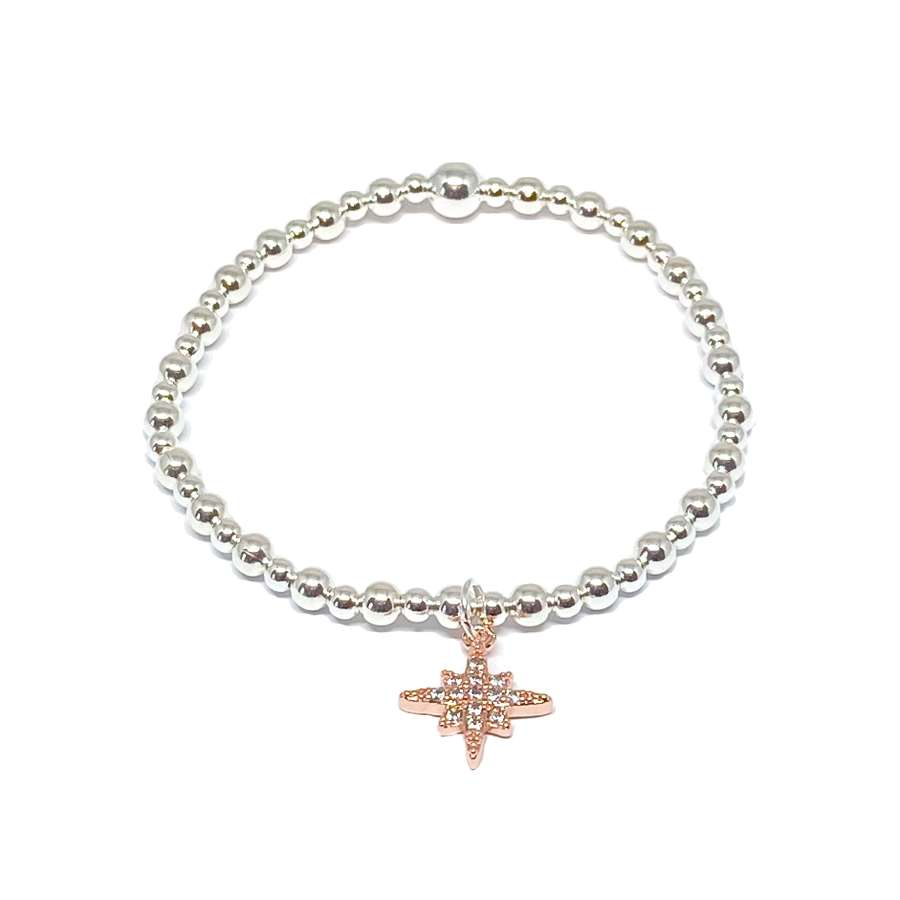 Krista Sparkle Bracelet - Rose Gold
