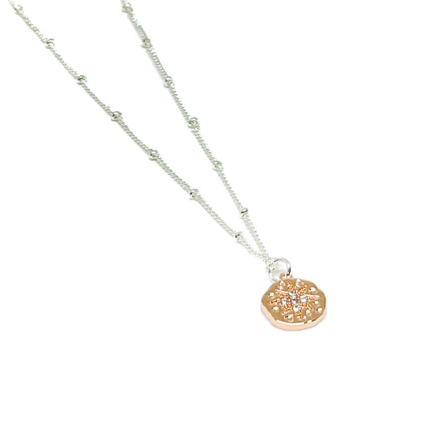 Rosalie Charm Necklace - Rose Gold