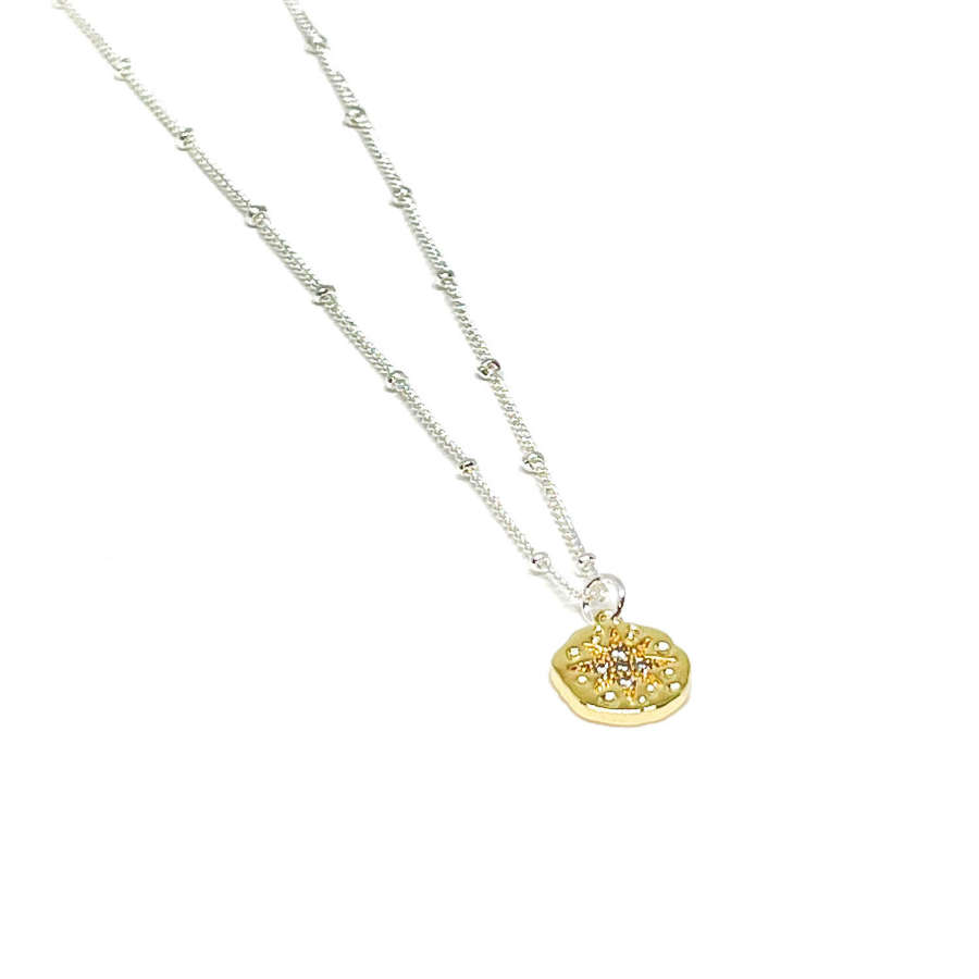 Rosalie Charm Necklace - Gold