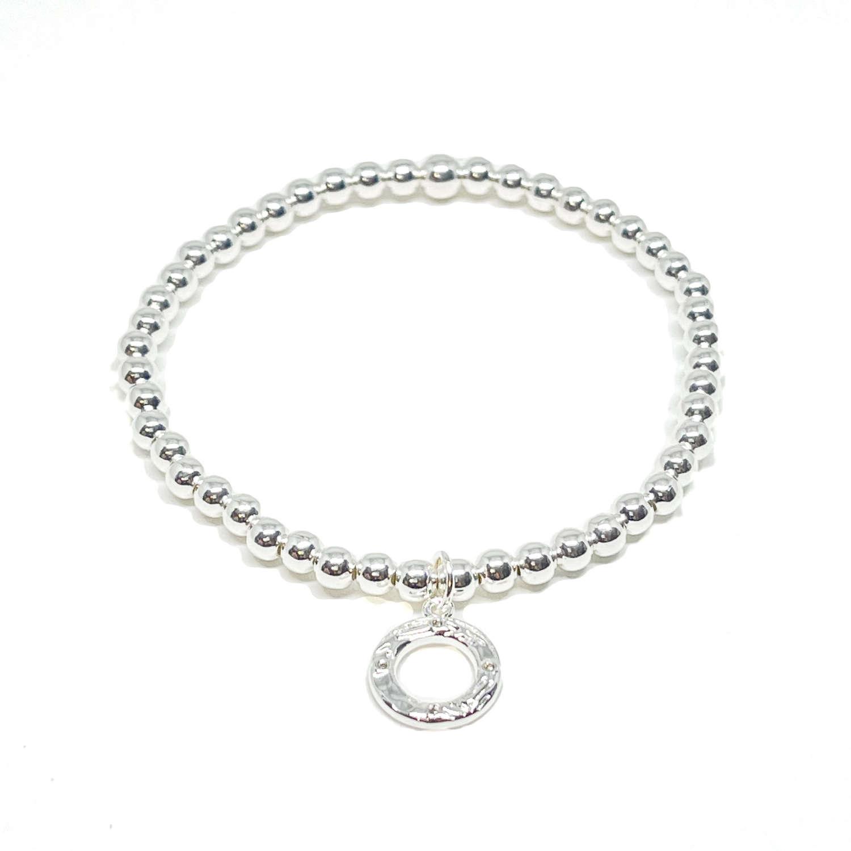 Bonnie Circle Bracelet - Silver