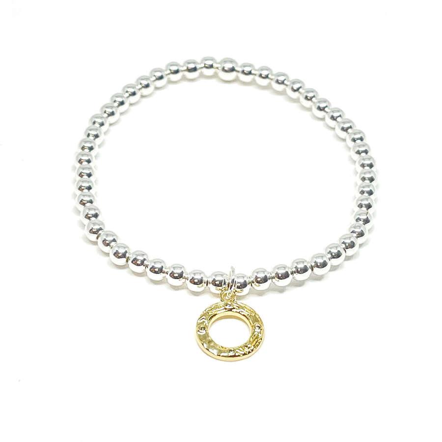 Bonnie Circle Bracelet - Gold
