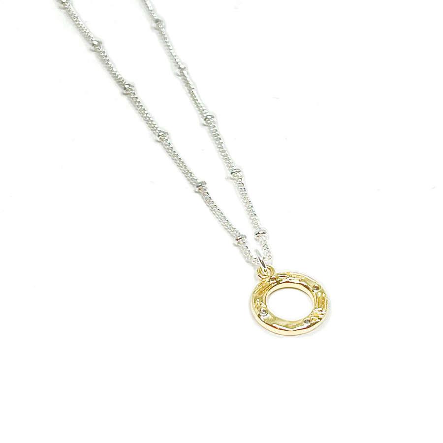 Bonnie Circle Necklace - Gold