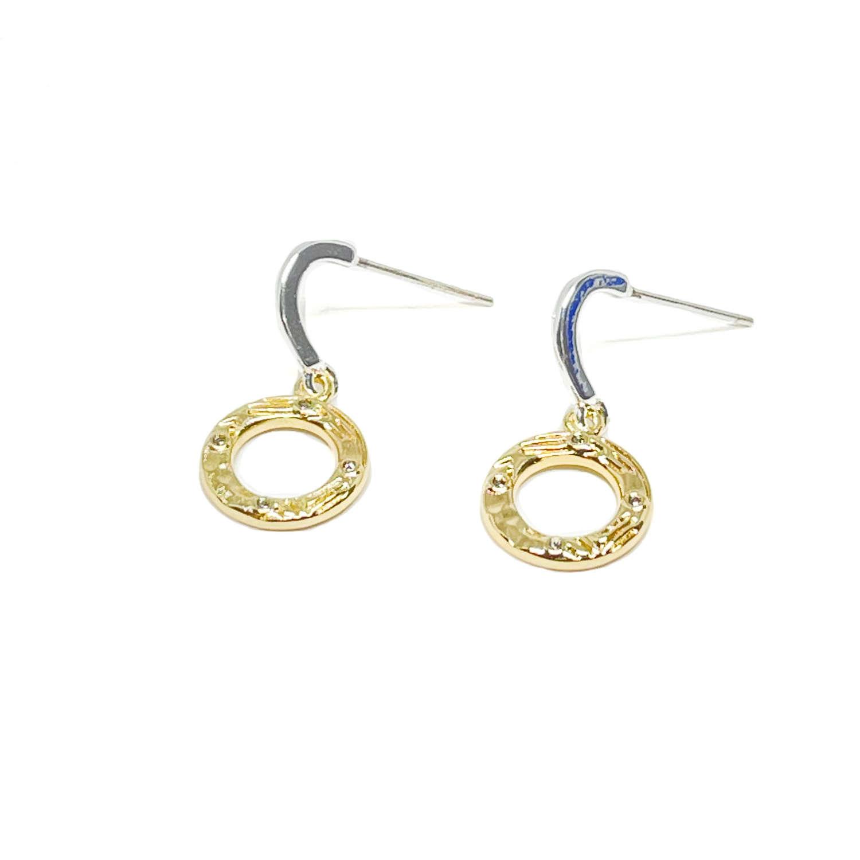 Bonnie Sterling Silver Earrings - Gold