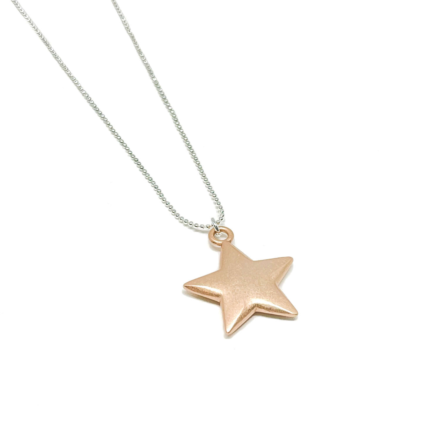 Florence Star Necklace - Rose Gold
