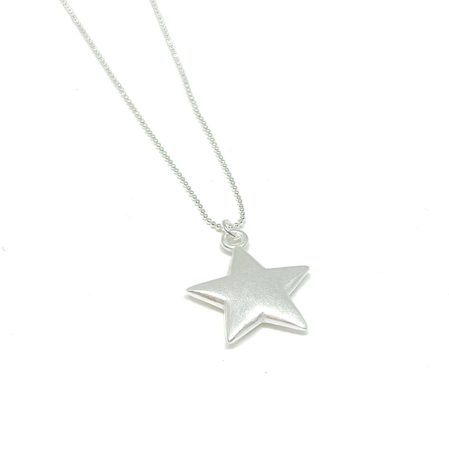 Florence Star Necklace - Silver