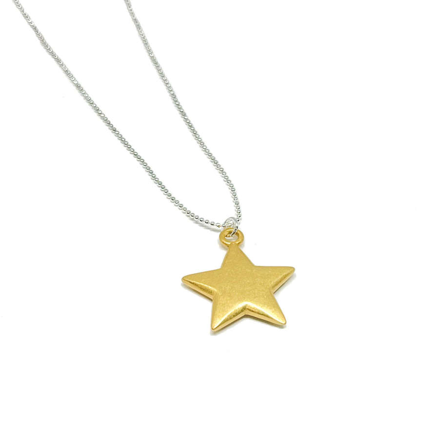 Florence Star Necklace - Gold