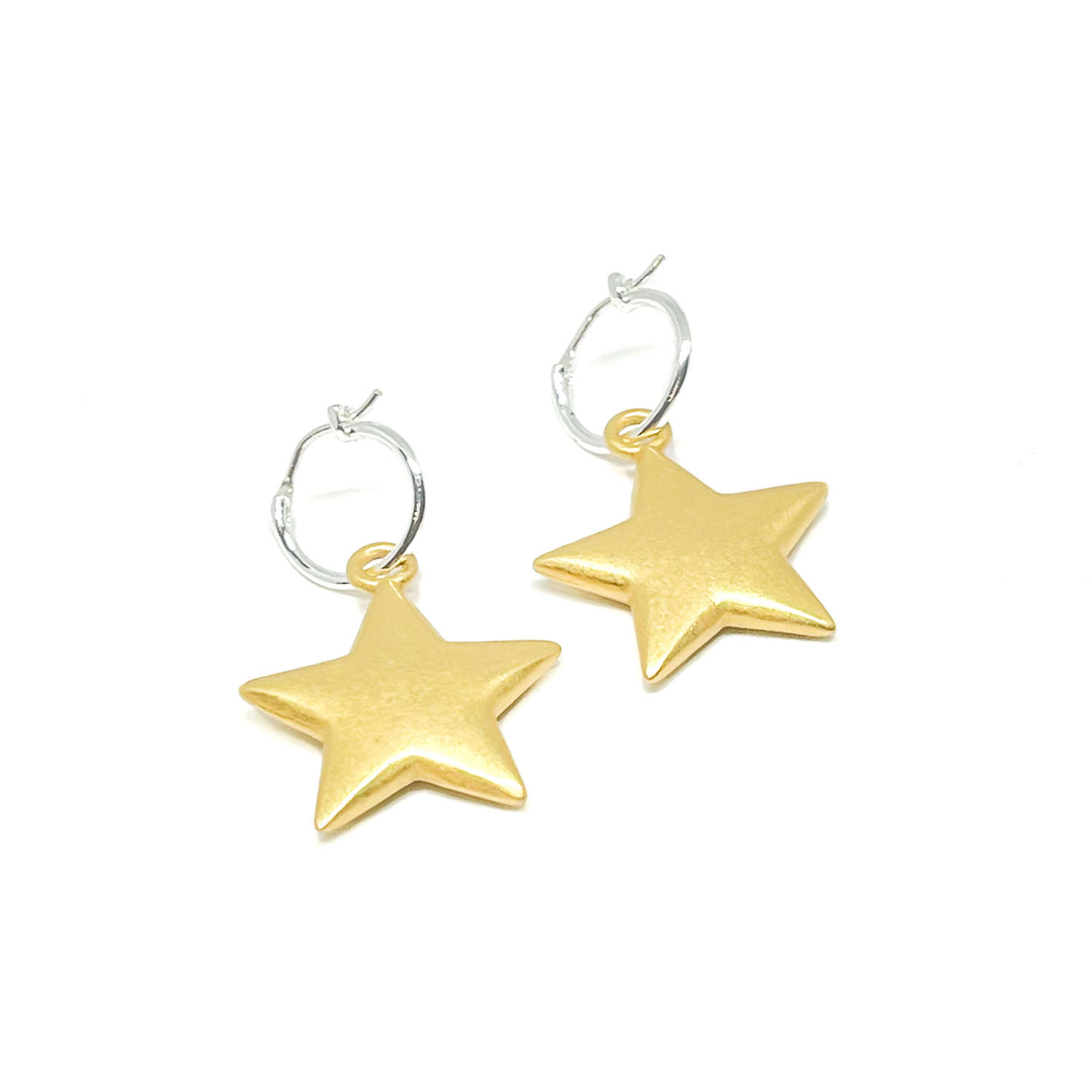 Florence Sterling Silver Earrings - Gold