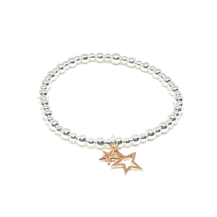 Layla Star Bracelet - Rose Gold