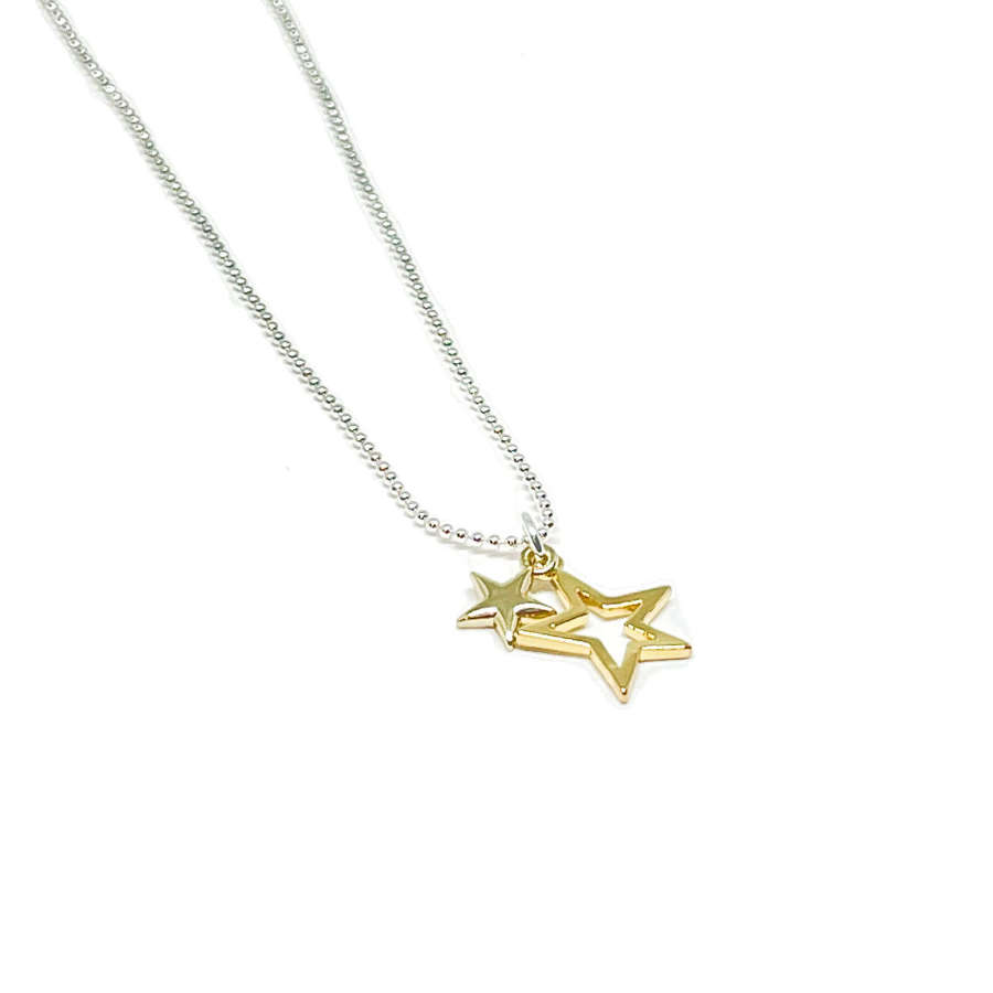 Layla Star Necklace - Gold