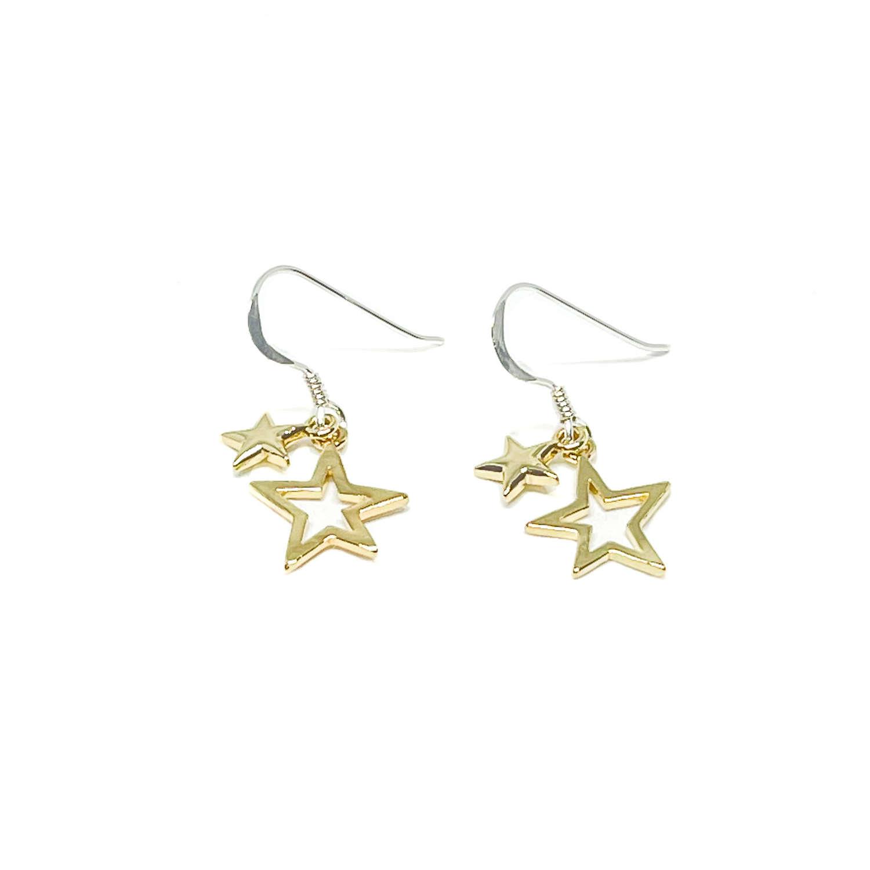 Layla Sterling Silver Earrings - Gold