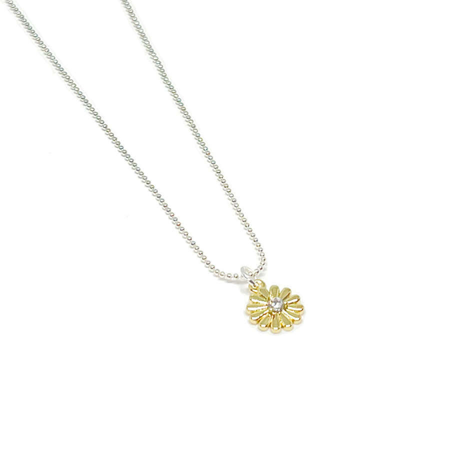 Freya Flower Necklace - Gold