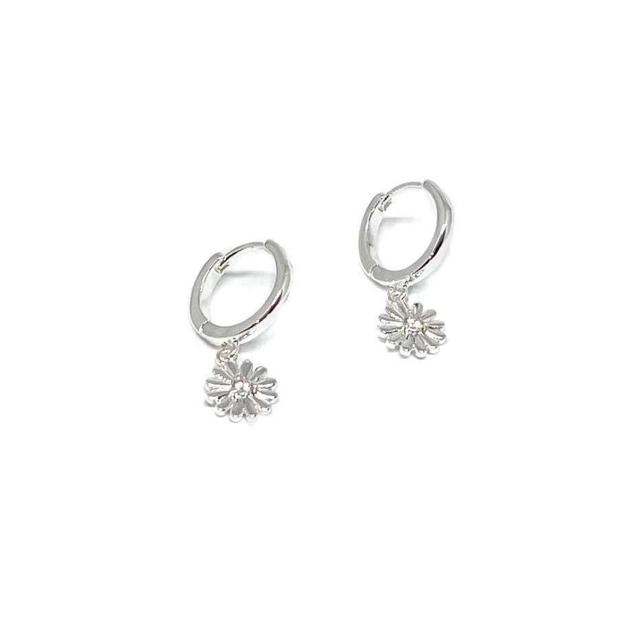 Freya Sterling Silver Earrings - Silver