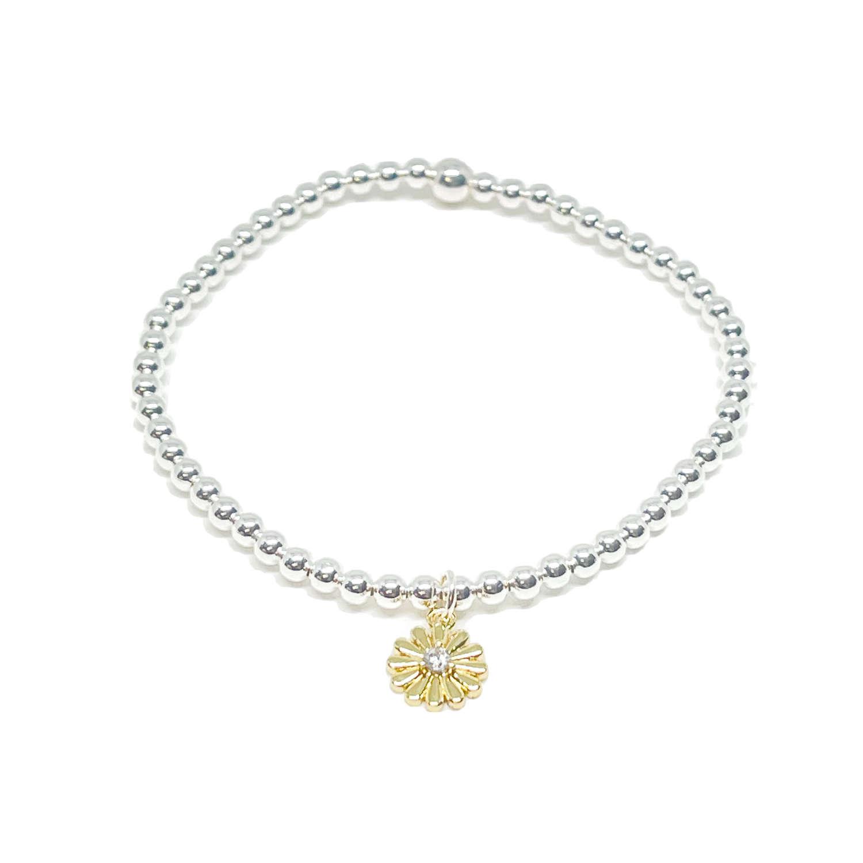 Freya Flower Bracelet - Gold