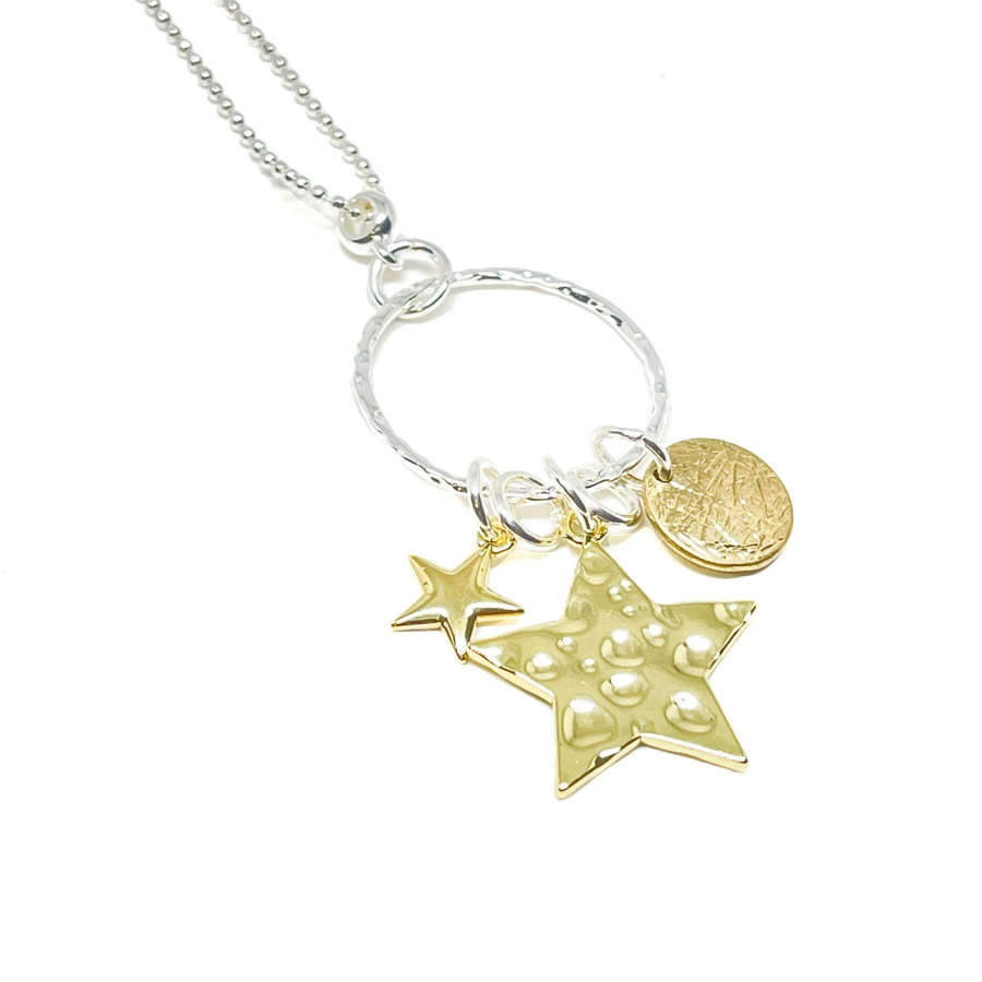 Joanna Star Necklace - Gold